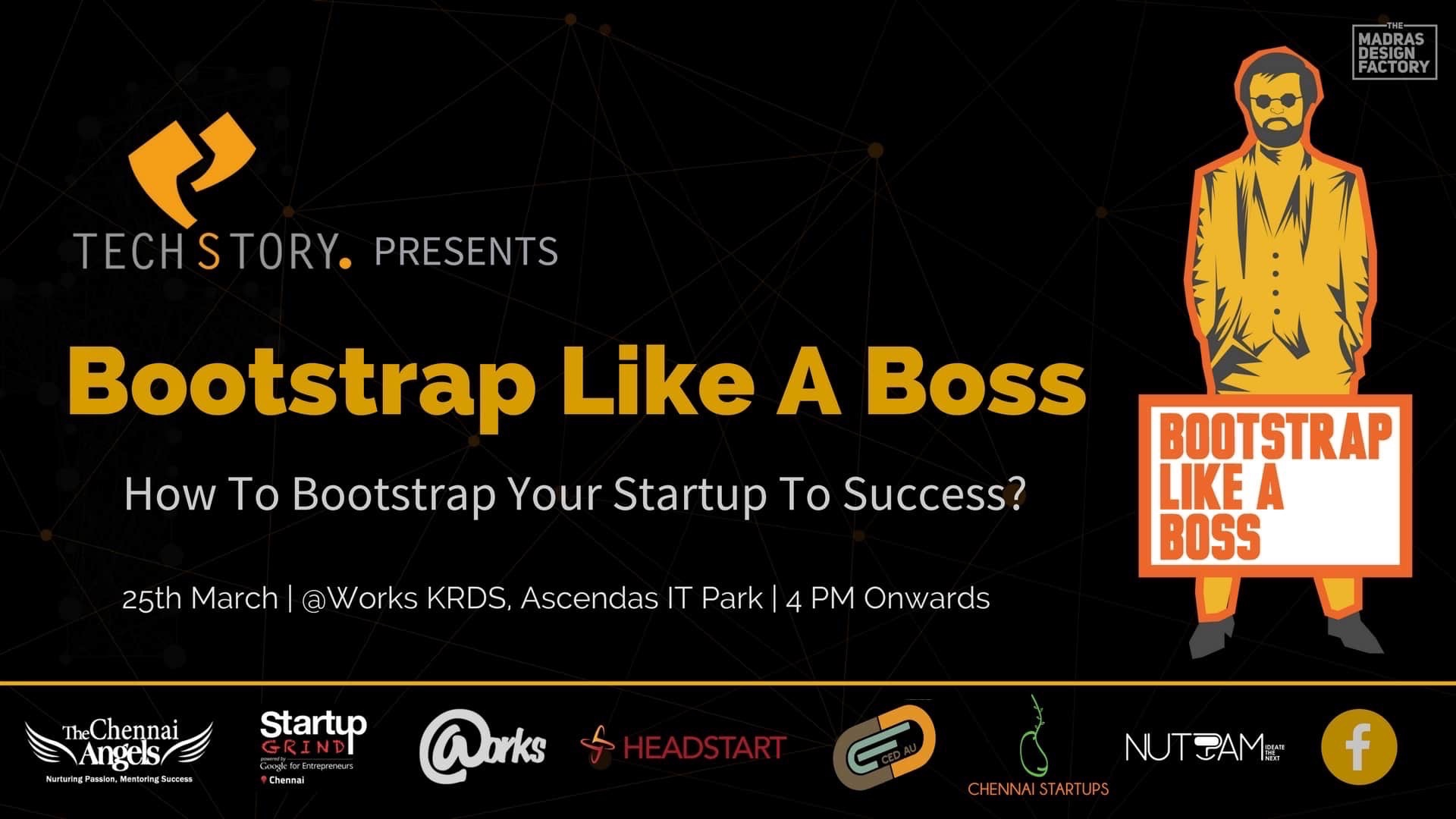 Our CEO explains How to Bootstrap like a Boss