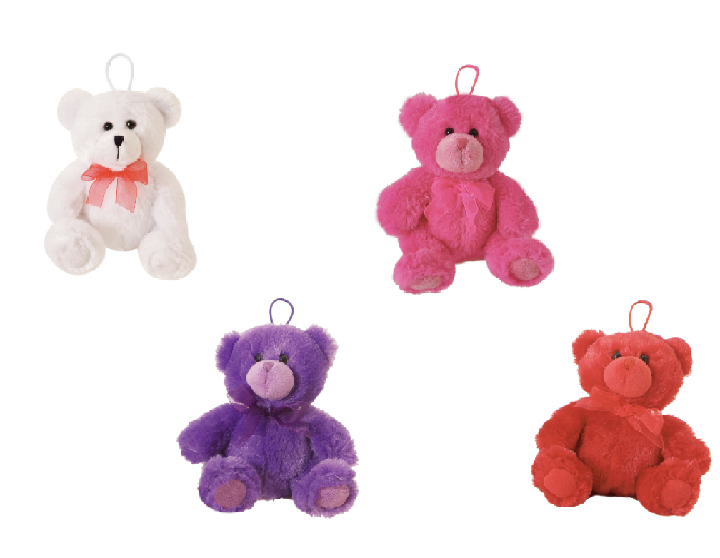 "The Petting Zoo: 6"" Valentines McClure Bears Balloon Weights"