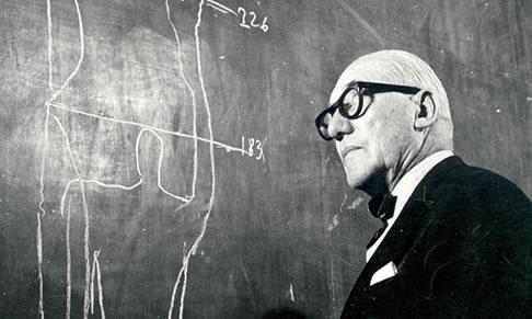 Portrait of Le Corbusier