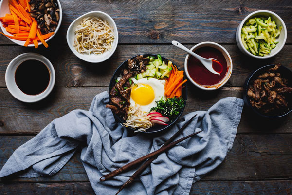 Make Delicious Beef Bibimbap