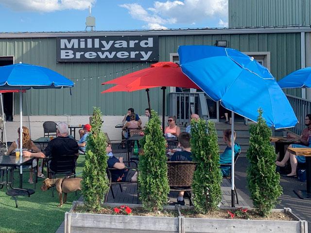 Millyard Brewery in Nashua, NH