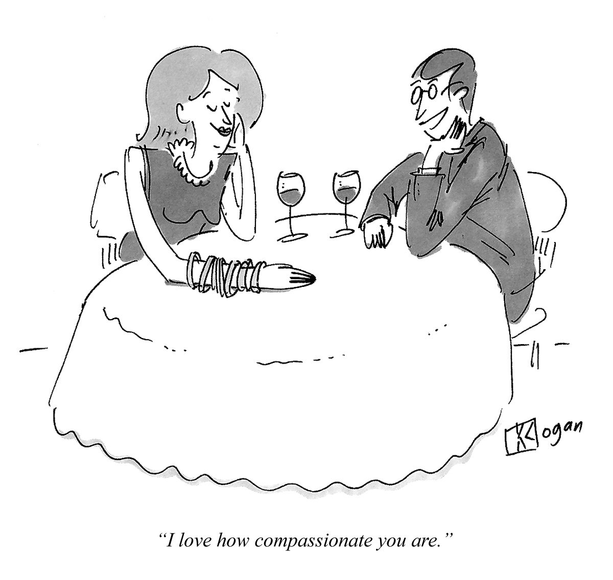 I love how compassionate you are.