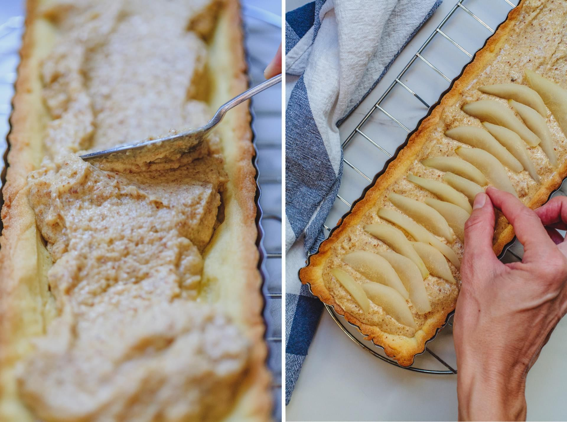 Pear and Almond Frangipane Tart