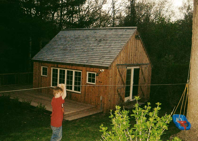 Shed Blakewood Construction 05
