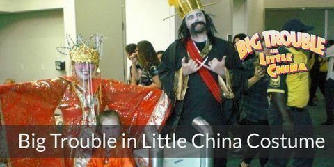 Dress like characters from Big Trouble in Little China for your Halloween or Costume Party