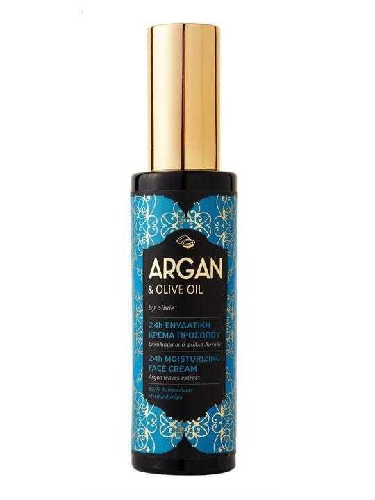 24h moisturizing face cream with argan – 50ml