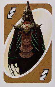 Legend of Zelda Brown Uno Reverse Card