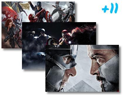 Captain America Civil War theme pack