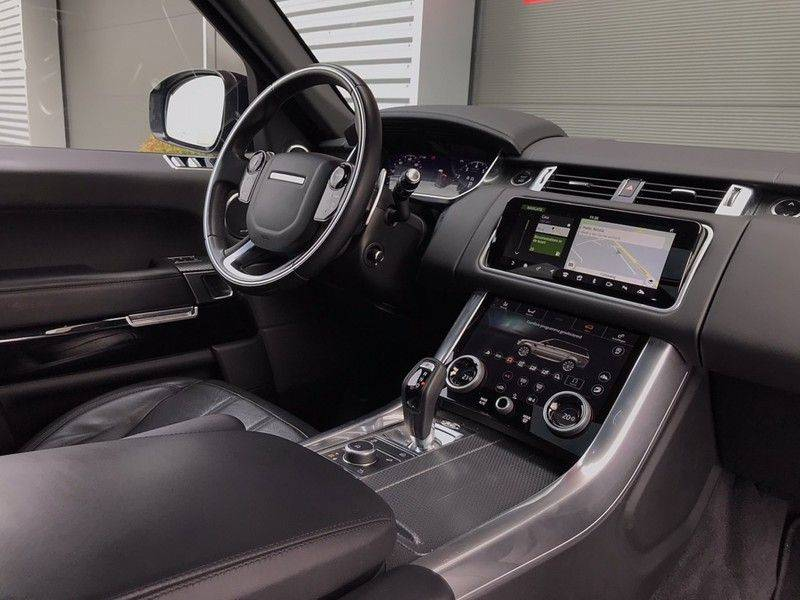 Land Rover Range Rover Sport 5.0 V8 SC HSE P525 Dynamic, 525PK, ACC, Pano, Meridian, Luchtvering, Keyless, Soft-Close, Head-Up, Camera, Matrix, Lane Assist, afbeelding 14