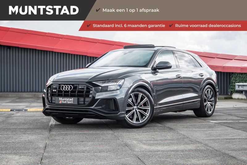 Audi Q8 4.0 TDI SQ8 quattro | 435PK | Sportdifferentieel | B&O | Alcantara hemel | Assistentiepakket Tour & City | Vierwielbesturing afbeelding 1