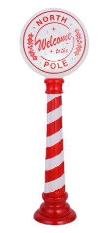 North Pole Sign photo