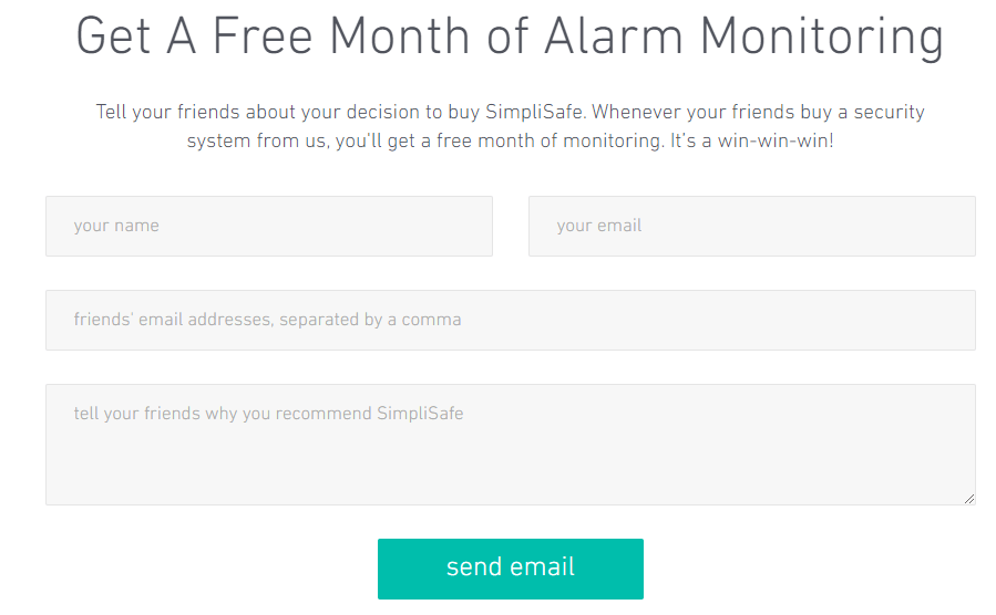 Simplisafe referral program