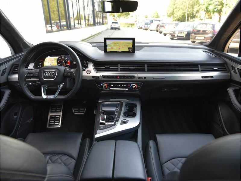 Audi SQ7 4.0TDI Quattro S-Line Individual Lucht Softcl Standk HUD M-Led Rauten Bose Alcant-hemel Leder-Dash afbeelding 12