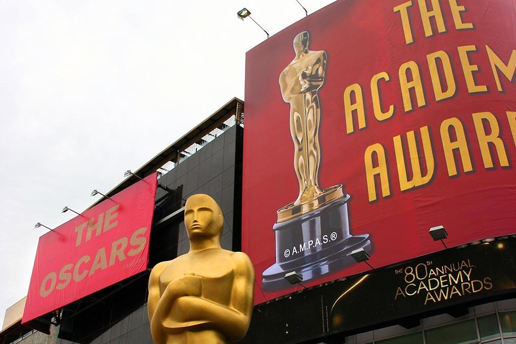 Oscar academy award at the Kodak Theather in Los Angeles