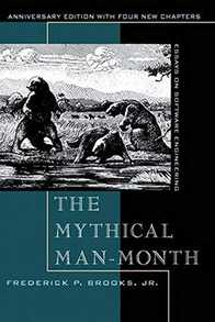 The Mythical Man-Month: Essays on Software Engineering Cover
