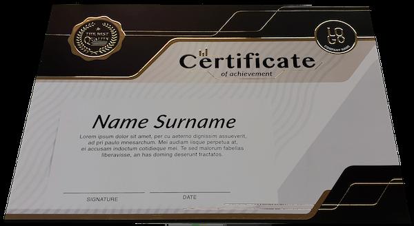 Prabangus sertifikatas