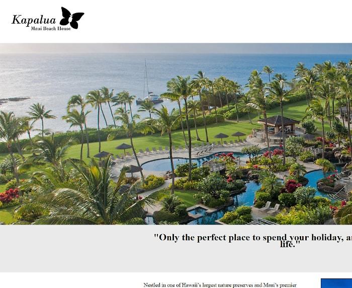 Kapalua Maui Beach House