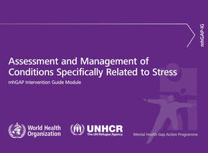 Assessment Management of Conditions Specifically Related to Stress.
