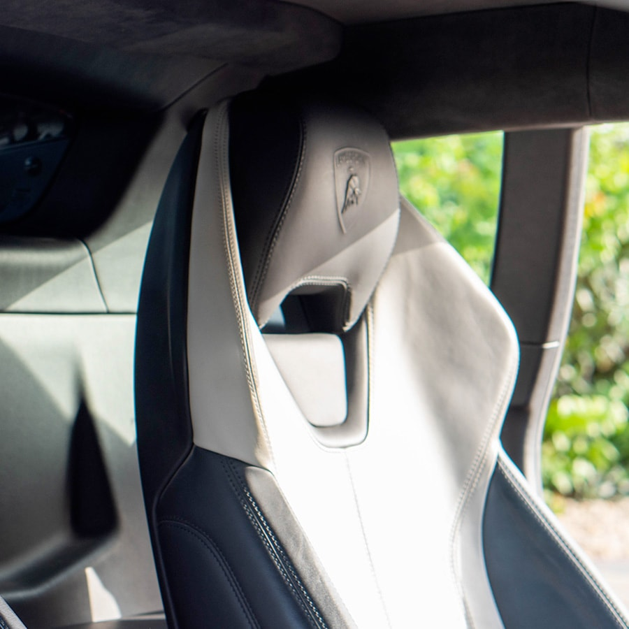 Lamborghini seats