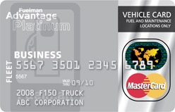 Fuelman advantage platinum card