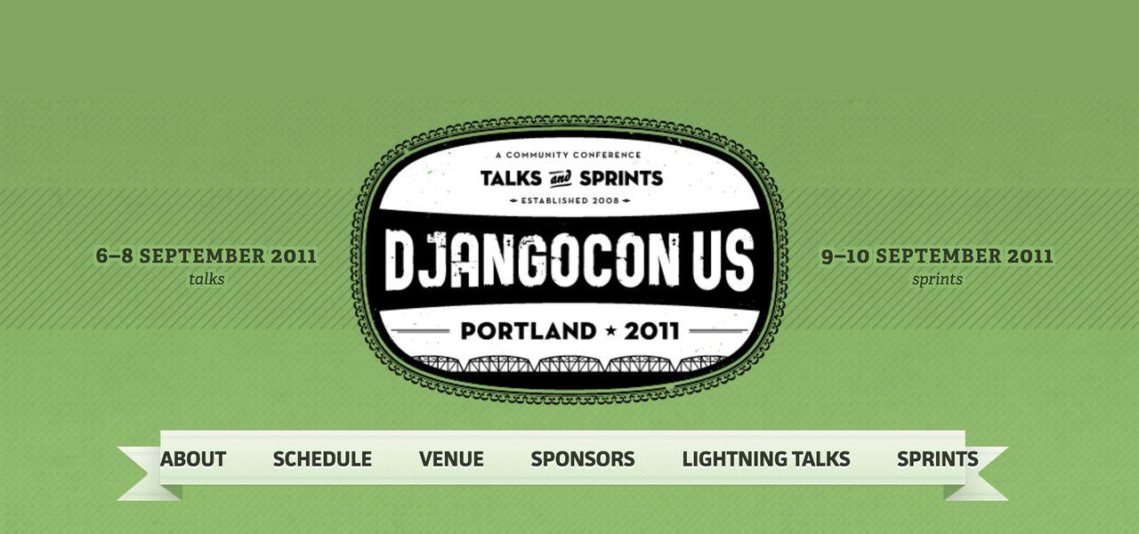DjangoCon US Portland 2011 logo