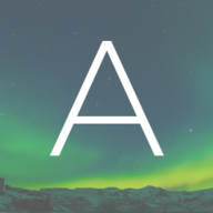 The logo for Aurora, a web application I developed the front-end and photo-upload feature for