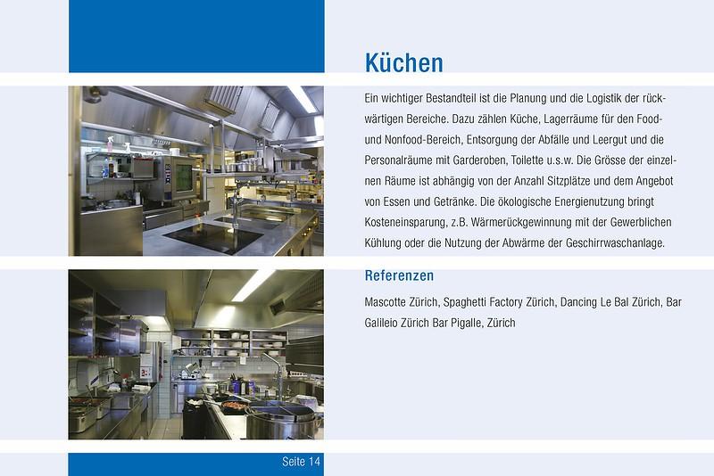 Business-Broschüre Küchen