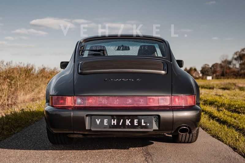 Porsche 911 964 3.6 Carrera 4 Coupé // Schiefergrau afbeelding 22