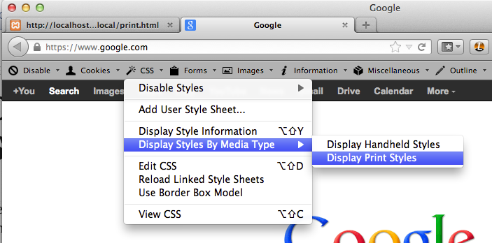 Debugging Print Stylesheets: Now Significantly Easier in Chrome