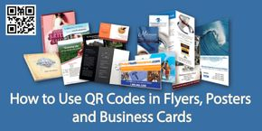 How to Use QR Codes in Flyers, Posters and Business Cards