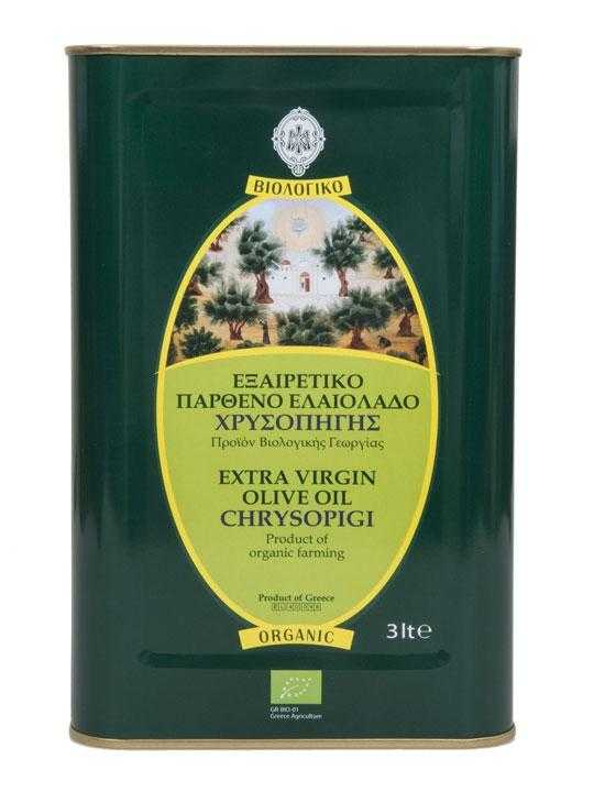 Huile d'olive extra vierge BIO MONASTERE - 3L