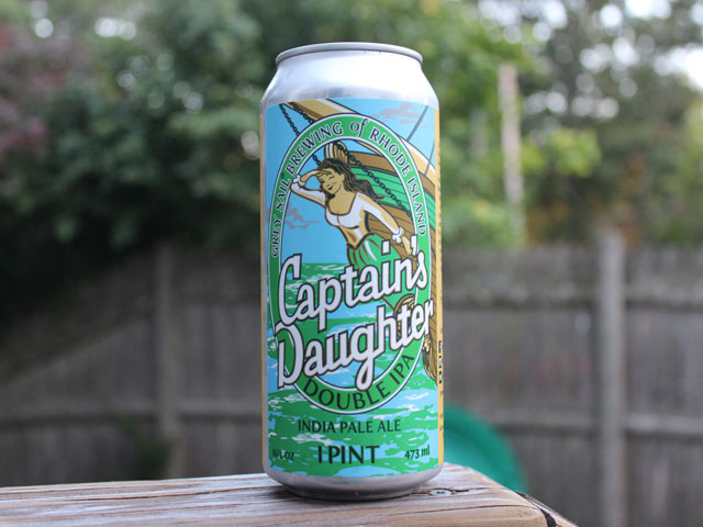 Captain's Daughter, a Double IPA brewed by Grey Sail Brewing Company