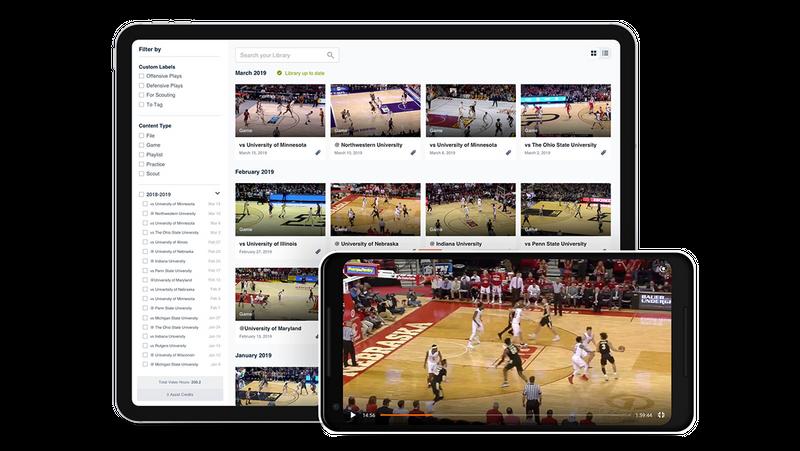 Hudl Basketball Video Sharing
