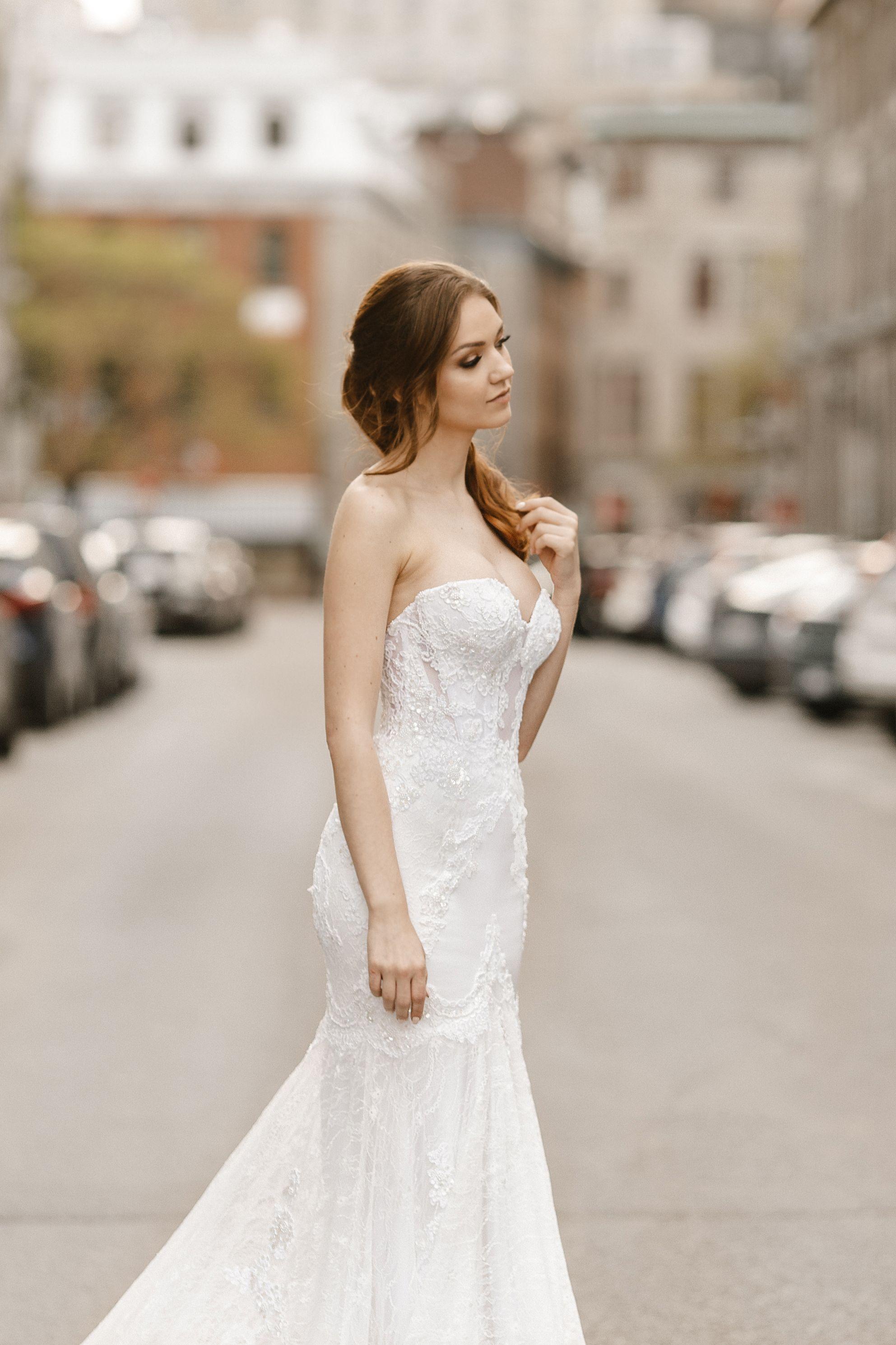 boutique de robe de mariee montreal robes de noces luxueuses manches epaules denudees tulle et dentelle