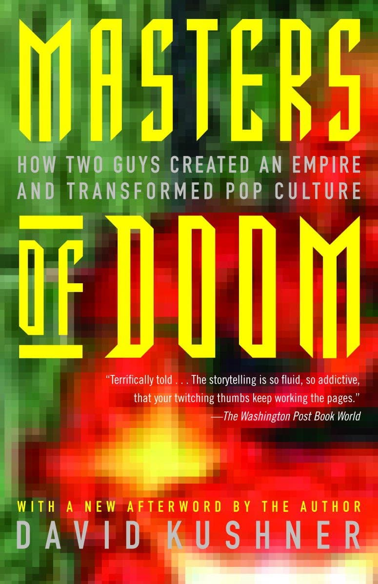 The cover of Masters of Doom