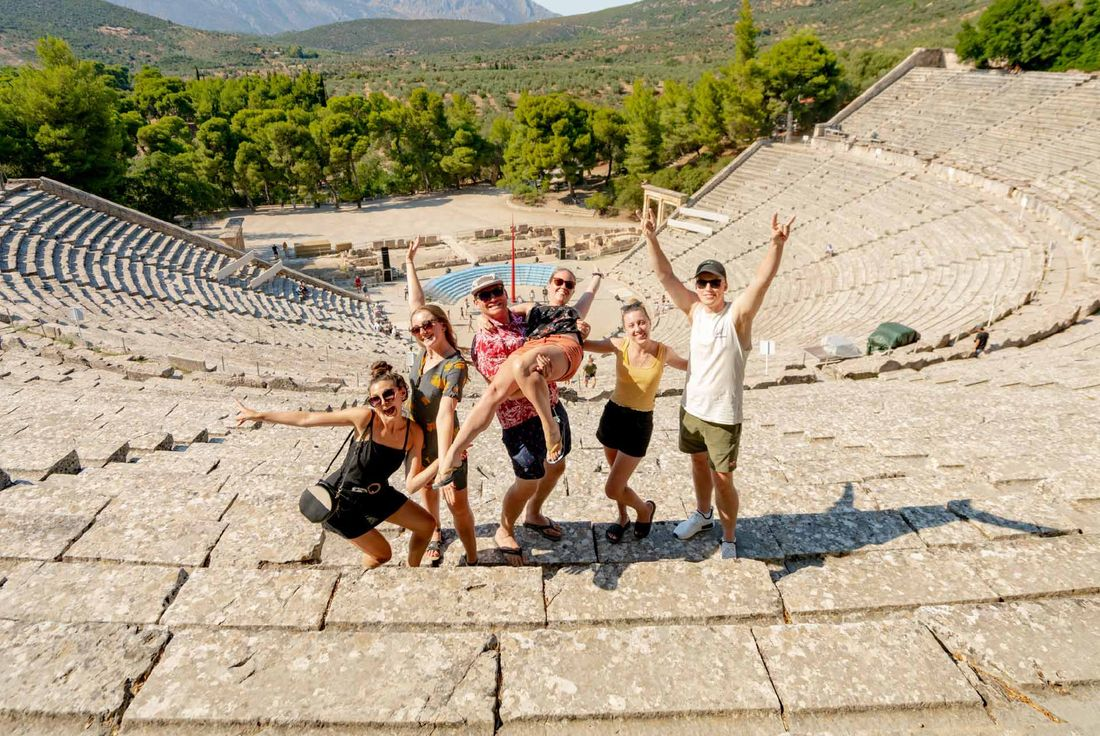 Epidavros Ancient Theatre