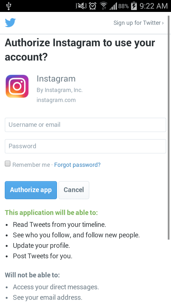 Ionic twitter login => A Step-by-step guide ·