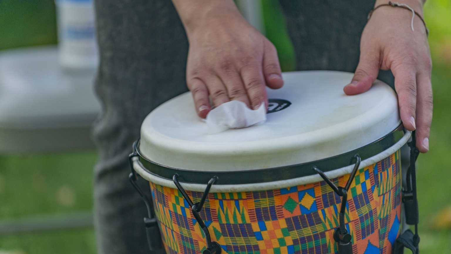 Note-ables Music Therapy Services received a grant to purchase special instruments that can be sanitized and used in the hospital.