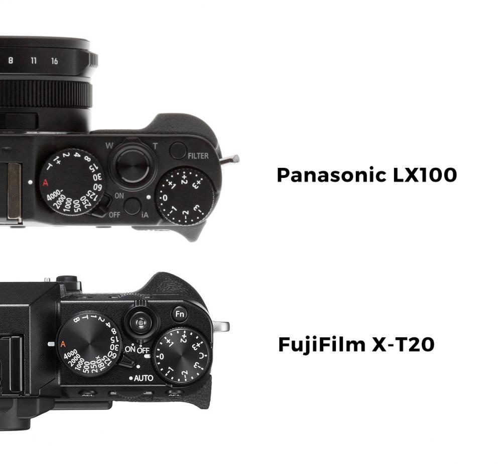 X-T20 vs LX100