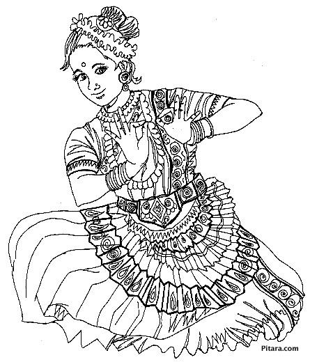 Oddissi dancer
