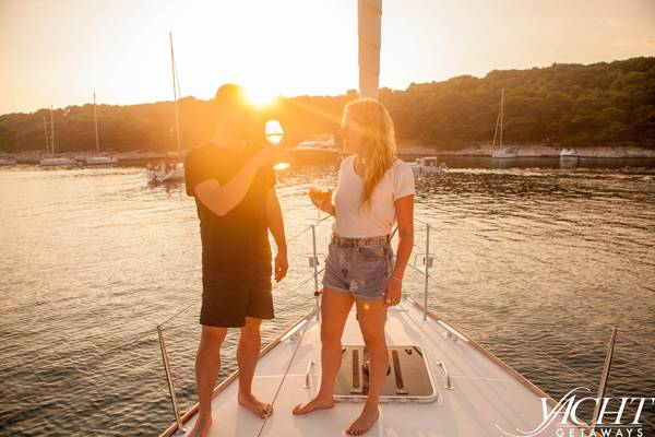 Enjoy a romantic getaway when you yacht in Croatia