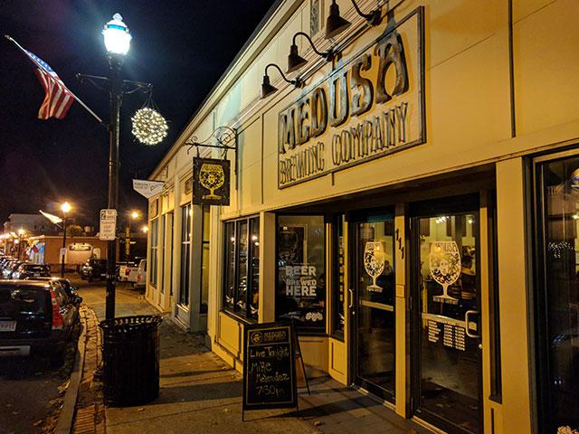 Medusa Brewing Company, Hudson, MA