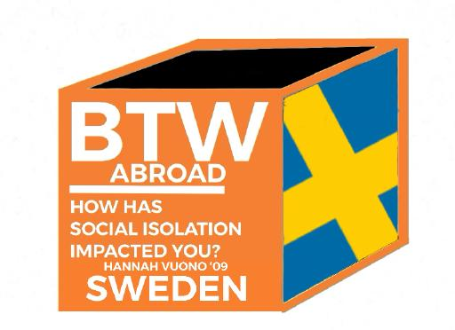 Graphic with Swedish flag
