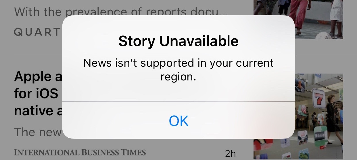How Apple Censors News in China