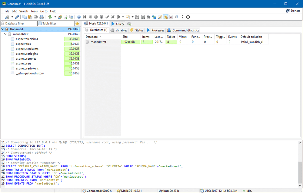 Viewing the ASP.NET Identity tables in HeidiSQL