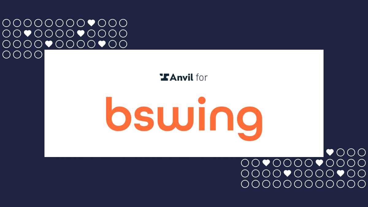 Case Study: Anvil automated - Bswing - Logo