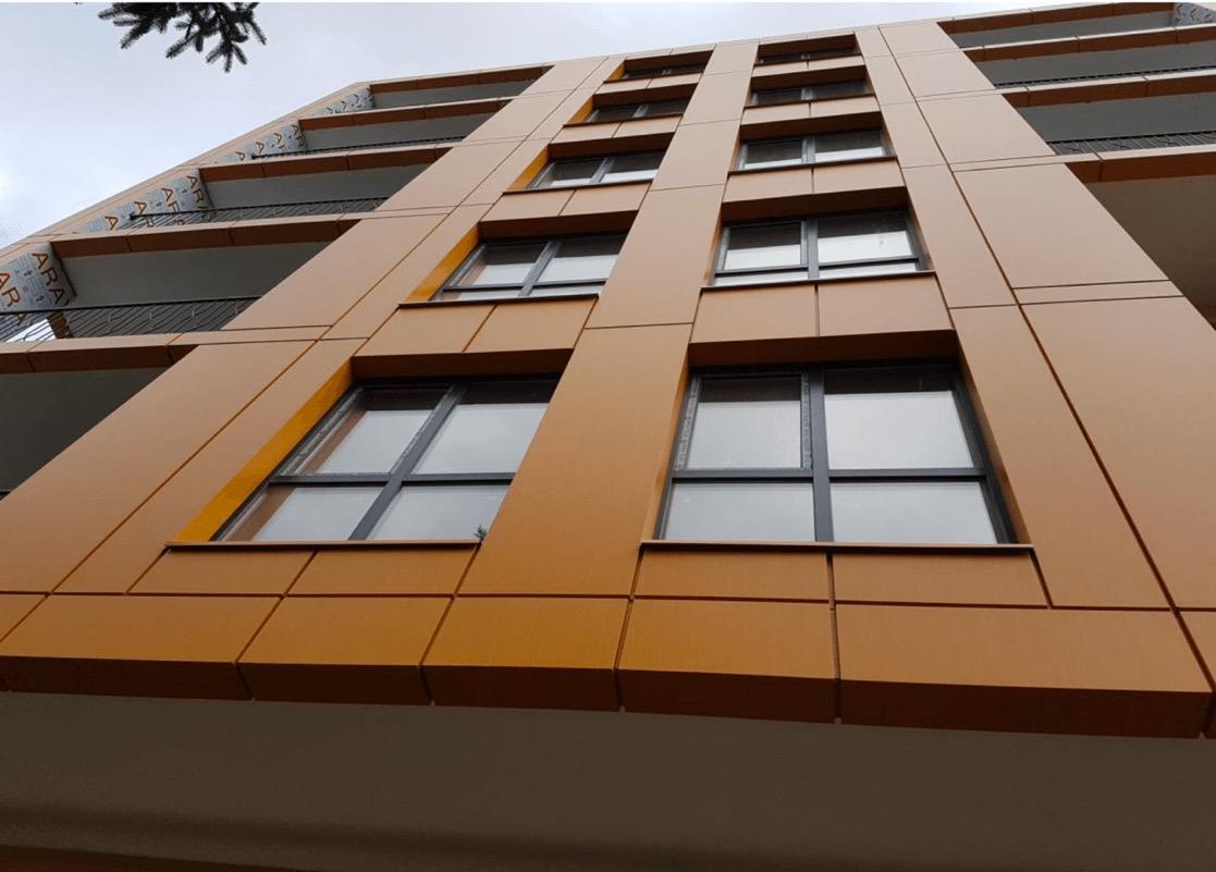 Фасадні роботи, Avalon 5, м. Вінниця