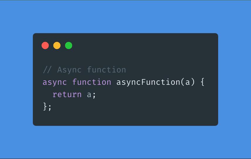async function