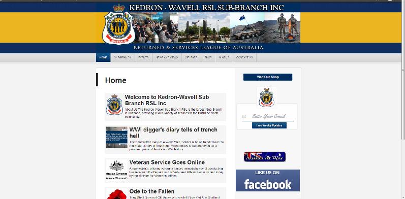 kwrsl Website Screenshot
