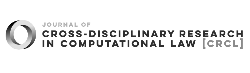 Logo of the Journal of Cross-disciplinary Research in Computational Law